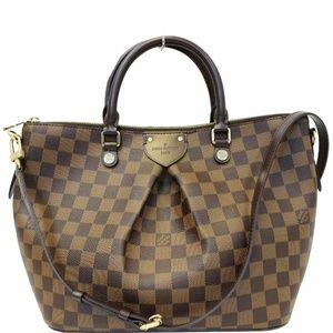 LOUIS VUITTON Siena PM Damier Ebene Shoulder Bag